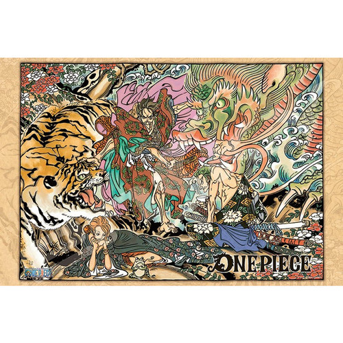 Ensky Jigsaw Puzzle 1000-575 One Piece Memory of Artwork Vol.1 (1000 Pieces)