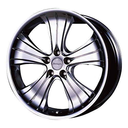 Aoshima 54659 Tuned Parts 74 1/24Bersaglio Spoke III MF 20 inch Tire & Wheel Set