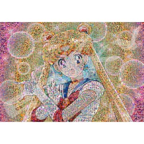 Ensky Jigsaw Puzzle 1000T-43 Mosaic Art Sailor Moon (1000 Pieces)