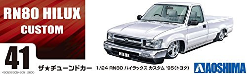 Aoshima 54505 RN80 Hilux Custom '95 (TOYOTA) 1/24 scale kit