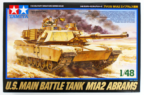Tamiya 32592 USA M1A2 Abrams 1/48 scale kit