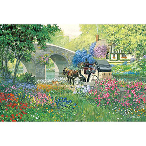APPLEONE Jigsaw Puzzle 1000-817 D.R.Laird Graceful Coach (1000 Pieces)