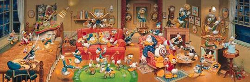Tenyo Japan Jigsaw Puzzle D-950-558 Disney Donald Duck (950 Pieces)
