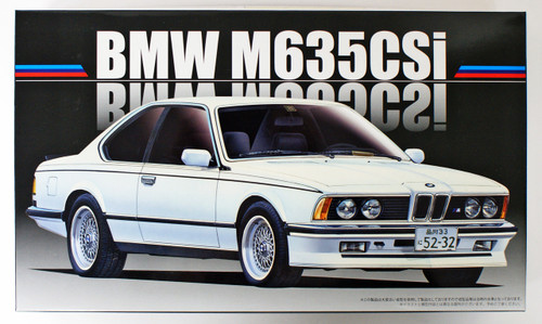 Fujimi RS-24 BMW M635CSi 1/24 scale kit