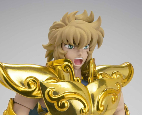 Bandai 225546 Saint Seiya Myth Cloth EX Leo Aiolia Revival Version Figure