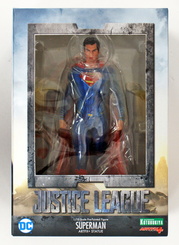 Kotobukiya SV216 ARTFX+ DC Universe Justice League Superman 1/10 Scale Figure