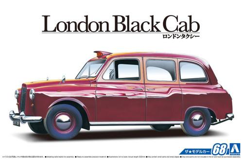 Aoshima 54871 The Model Car 68 FX-4 London Black Cab 1968 1/24 scale kit