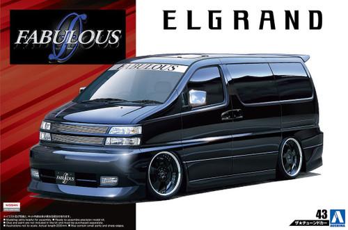 Aoshima 54529 FABULOUS APE50 ELGRAND '00 (NISSAN) 1/24 scale kit