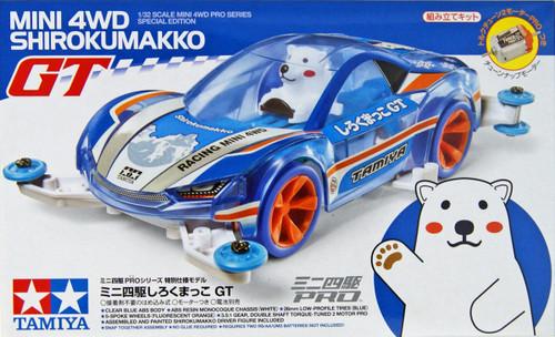 Tamiya 95304 Mini 4WD Shirokumakko GT MA Chassis 1/32
