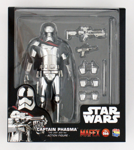 Medicom MAFEX 066 Captain Phasma Action Figure (The Last Jedi Ver.)