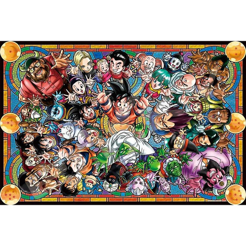 Ensky Art Crystal Jigsaw Puzzle 1000-AC008 Dragon Ball Z (1000 Pieces)