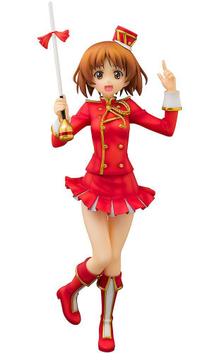 Aquamarine Miho Nishizumi: Marching Band style 1/8 Scale Figure (GIRLS und PANZER)