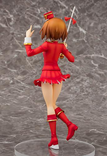 Aquamarine Miho Nishizumi: Marching Band style 1/8 Scale Figure (GIRLS und PANZER)