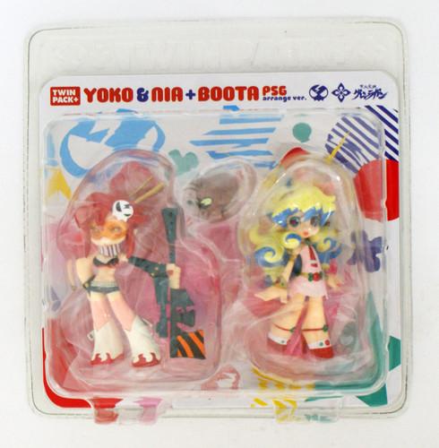 Phat! Twin Pack+: Yoko & Nia + Boota PSG Arrange ver. (Gurren Lagann)