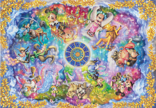 Tenyo Japan Jigsaw Puzzle D-2000-621 Disney Zodiacal Constellations (2000 Pieces)