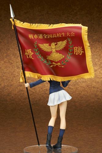 quesQ Nishizumi Miho Senshado National High School Tournament Winner's Flag 1/7 Scale Figure (Girls und Panzer der Film)