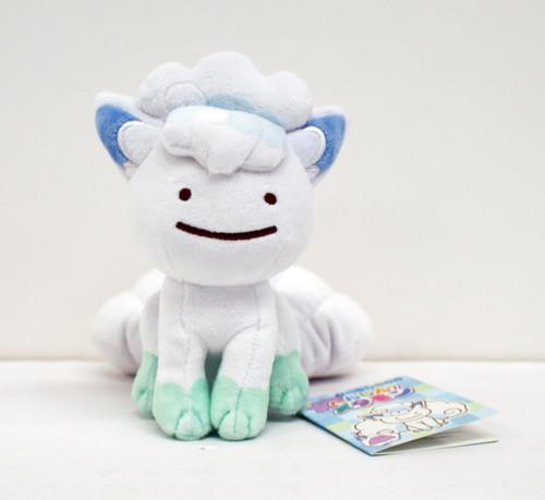 Pokemon Center Original Plush Doll Ditto Alola Vulpix 1223-