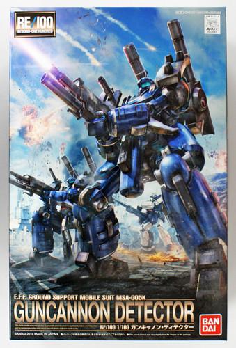 Bandai RE/100 210610 GUNDAM Guncannon Detector 1/100 scale kit