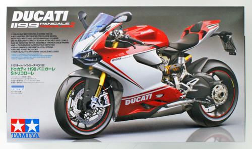 Tamiya 14132 Ducati 1199 Panigale S Tricolore 1/12 Scale Kit