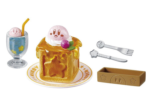 "Re-ment 203638 ""Kirby's Cafe Time"" 8 Figure Complete set"