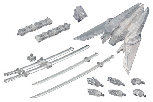Kotobukiya MSG Modeling Support MW102 Weapon Unit Assorted 02 Sharp Set Clear Version