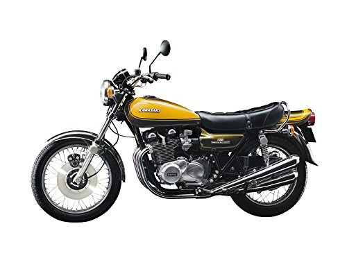 Aoshima 55311 Bike 56 Kawasaki 900 Super4 Z1w/ Custom Parts 1/12 scale kit