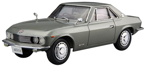 Aoshima 55502 The Model Car 66 Nissan CSP311 Silvia 1966 1/24 scale kit