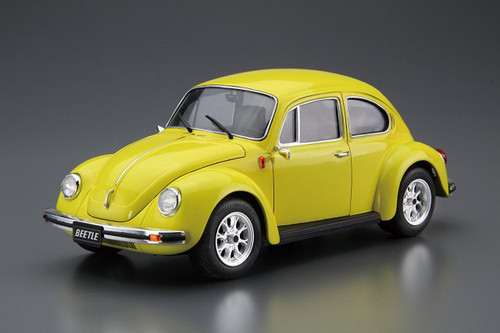 Aoshima 55526 The Model Car 73 Volkswagen 13AD Beetle 1303S 1973 1/24 scale kit