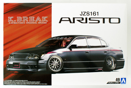 Aoshima 55410 Toyota K-Break Platinum JZS161 ARISTO 2000 1/24 scale kit