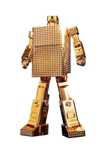 Bandai 239406 Soul of Chogokin GX-32R Gold Lightan 24 Gold Plating Figure