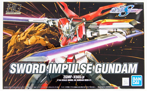 Bandai HG Gundam Seed Sword Impulse Gundam 1/144 Scale Kit