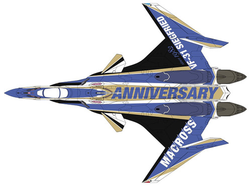 Hasegawa Macross 65842 VF-31J Siegfried 'Macross 35th Anniversary Painted' 1/72 scale kit
