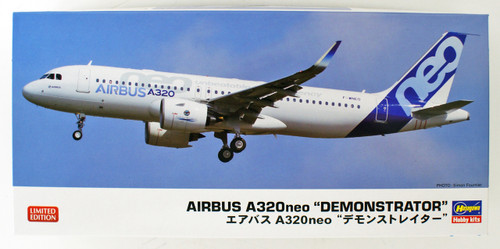Hasegawa 10823 Airbus A320neo 'Demonstrator' 1/200 scale kit