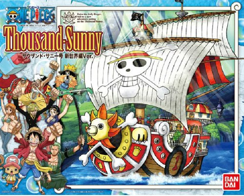 Bandai 716279 ONE PIECE Thousand Sunny New World Ver. (Non-Scale Plastic Model Kit)