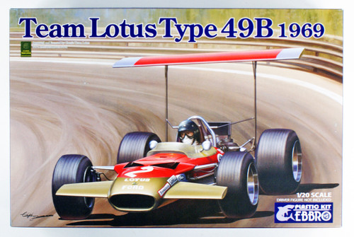 Ebbro 20005 Team Lotus Type 49B 1969 1/20 scale kit