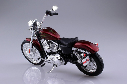 Aoshima Skynet 04408 Harley-Davidson 2012 XL 1200V Seventy-Two Red 1/12 scale Finished Model