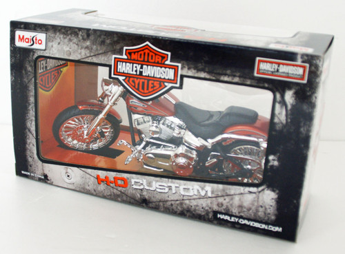 Aoshima Skynet 04422 Harley-Davidson 2014 CVO Breakout 1/12 Scale Finished Model