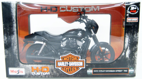 Aoshima Skynet 04439 Harley-Davidson 2015 Street 750 1/12 Scale Finished Model