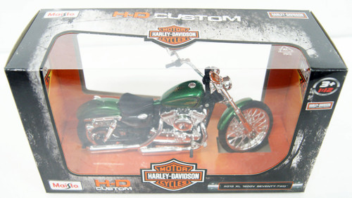 Aoshima Skynet 04477 Harley-Davidson XL 1200V Seventy-Two 1/12 Finished Model