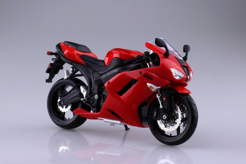 Aoshima Skynet 04514 Kawasaki Ninja ZX-6R 1/12 Scale Finished Model