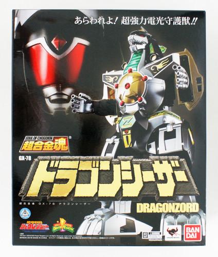 Bandai 197966 Soul of Chogokin Power Rangers GX-78 Dragonzord Figure