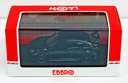 Ebbro 45573 Honda CIVIC Type R 2017 Crystal Black Pearl 1/43 Scale