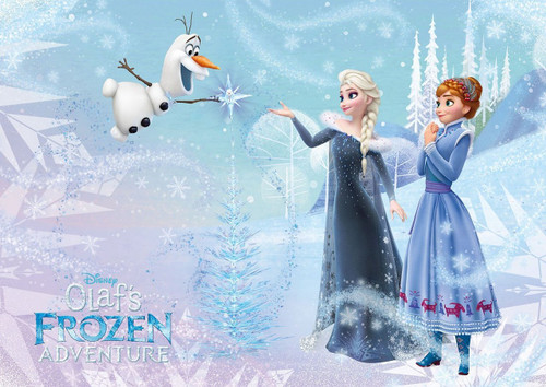 Tenyo Japan Jigsaw Puzzle D-108-809 Disney Olaf's Frozen Adventure Family Bonds (108 Pieces)