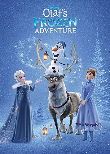 Tenyo Japan Jigsaw Puzzle D-300-005 Disney Olaf's Frozen Adventure (300 Pieces)