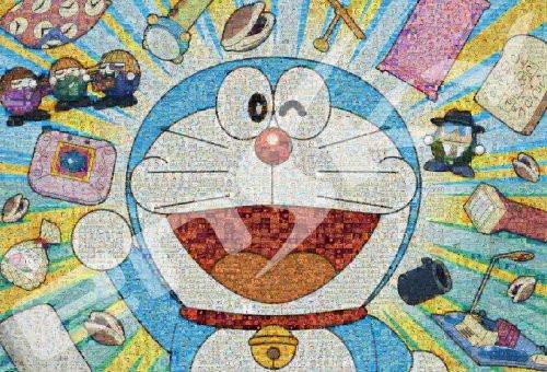 Ensky Jigsaw Puzzle 1000T-87 Doraemon Mosaic Art (1000 Pieces)