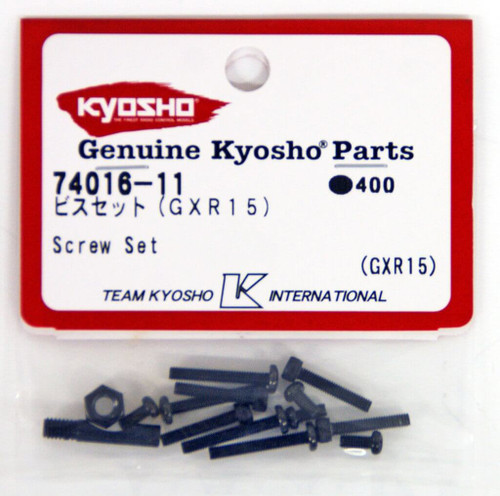 Kyosho  74016-11 Screw Set(GXR15)
