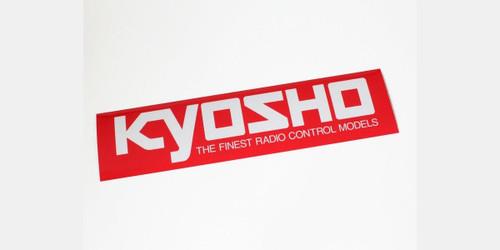Kyosho  87003 KYOSHO Logo Sticker (M/W290xH72)