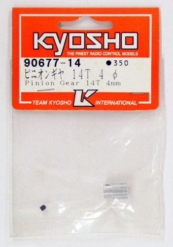 Kyosho  90677-14 Pinion Gear 14T 4mm