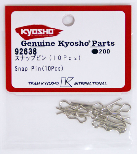 Kyosho  92638 Snap Pin(10Pcs)