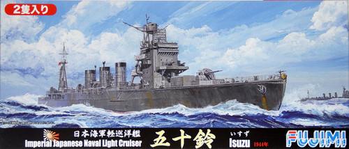 Fujimi TOKU-58 IJN Light Cruiser Isuzu 1944 (includes 2 Ships) 1/700 Scale Kit